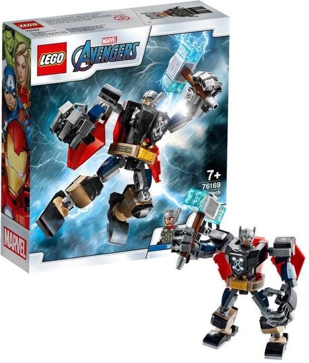 LEGO® Super Heroes 76169 Thor v obrněném robotu