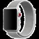 ESES nylonový řemínek 42mm pro apple watch, stříbrná