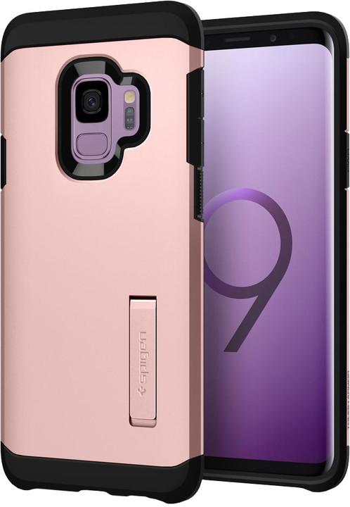 Spigen Tough Armor pro Samsung Galaxy S9, rose gold