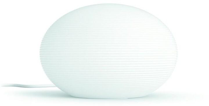 Philips stolní lampa Hue Flourish, LED, RGB, 9,5W, bílá - 2.generace s BT