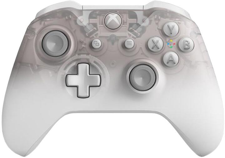 Xbox ONE S Bezdrátový ovladač, Phantom White (PC, Xbox ONE)