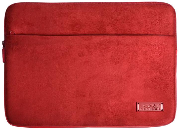 """Port Designs MILANO pouzdro na 13/14"""", červená"""