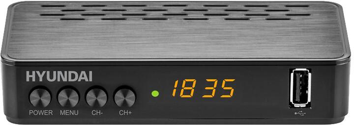 Hyundai DVBT 220 PVR , DVB-T2, černá