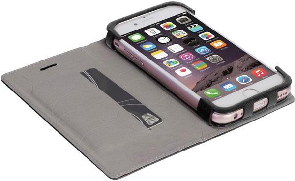 Krusell MALMÖ FolioCase flipové pouzdro pro Apple iPhone 7 Plus, černá