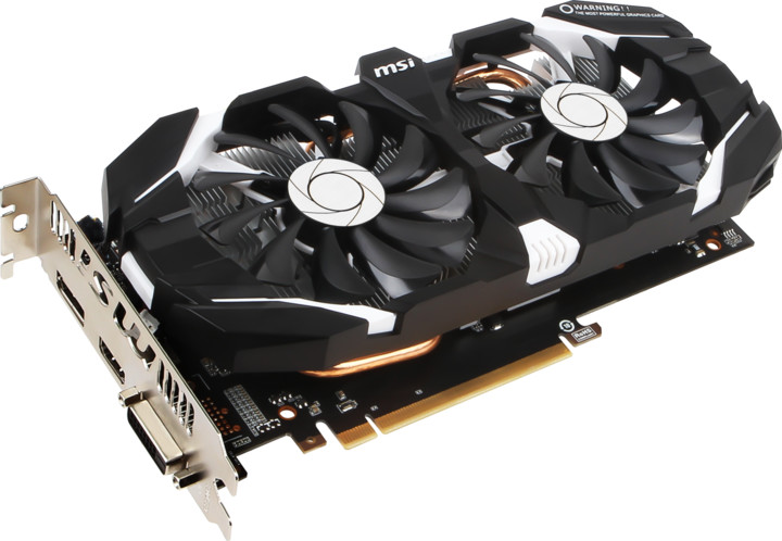 MSI GeForce GTX 1060 6GT OCV1, 6GB GDDR5