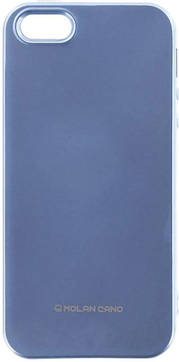 Molan Cano Jelly TPU Pouzdro pro Honor 10, nebesky modrá