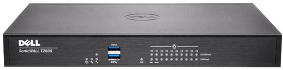 Dell SonicWall TZ600 firewall, podpora na 1 rok