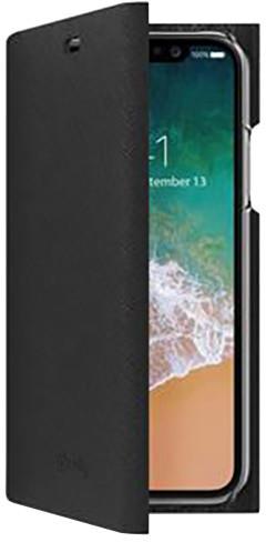 CELLY Pouzdro typu kniha Shell pro Apple iPhone X, černé
