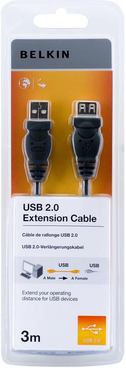 Belkin prodlužovací USB 2.0 kabel A-A, řada standard, 3 m