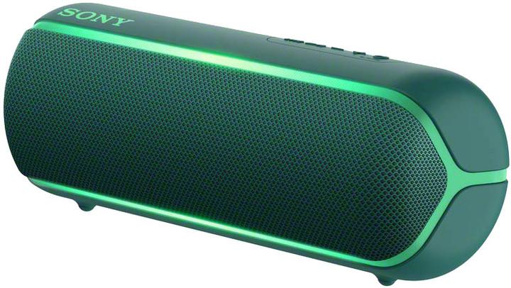 Sony SRS-XB22, zelená