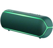 Sony SRS-XB22, zelená - Rozbalené zboží