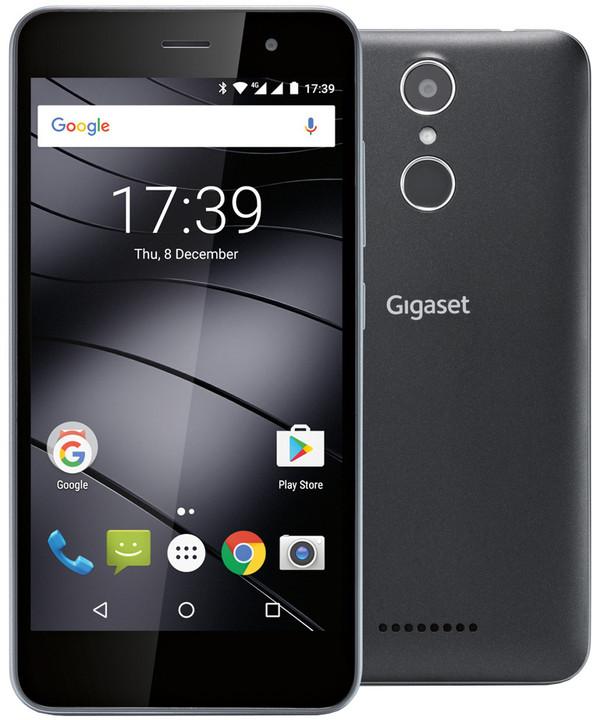 Gigaset GS160 - 16GB, Dual Sim, černá