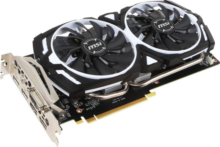 MSI GeForce GTX 1060 ARMOR 6G OCV1, 6GB GDDR5