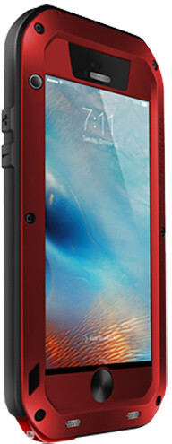 Love Mei Case iPhone 6 Three anti Straight version Red
