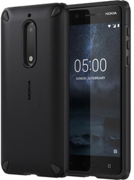 Nokia Rugged Impact Case (pouzdro) CC-502 for Nokia 5, černá