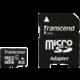 Transcend Micro SDHC 4GB Class 4 + adaptér