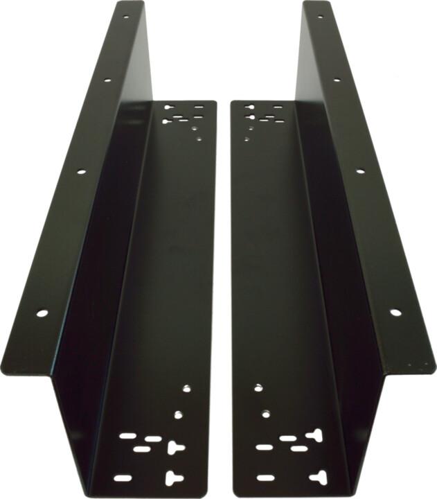 Virtuos držák pro zavěšení zásuvky C420/C425/C430/S-410, 2ks, černá