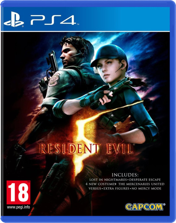 Resident Evil 5 HD (PS4)