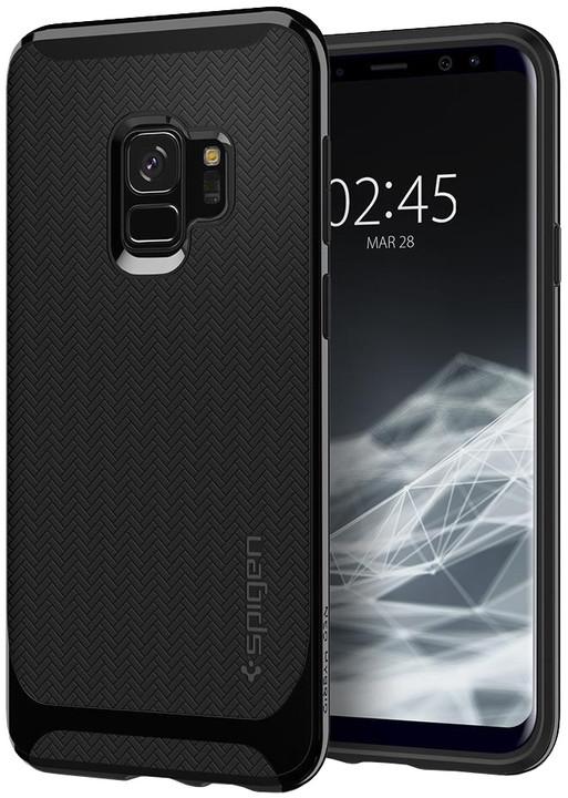 Spigen Neo Hybrid pro Samsung Galaxy S9, shiny black