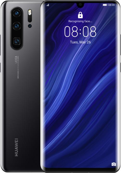 Huawei P30 Pro, 8GB/256GB, černá