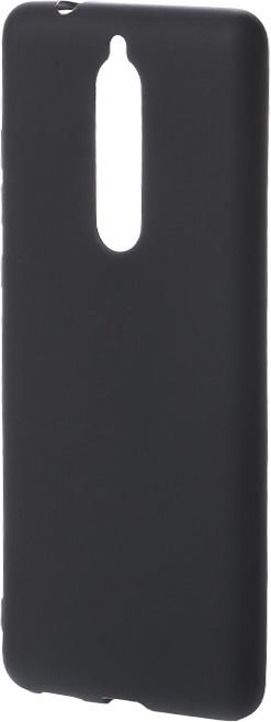 Epico Pružný plastový kryt pro Nokia 5.1 SILK MATT, černý