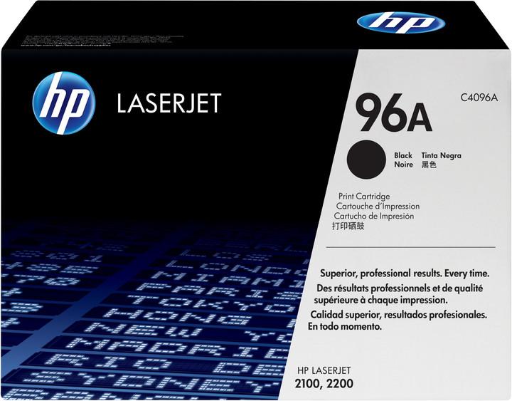 HP C4096A, černý