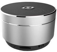 CELLY Speaker, hliníková konstrukce, stříbrná - Rozbalené zboží
