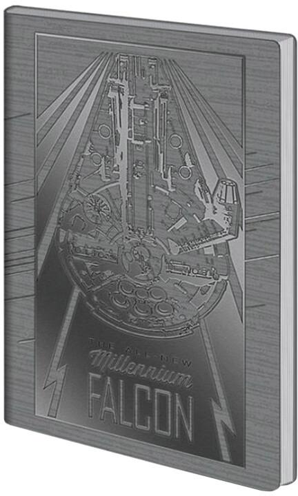 Zápisník Star Wars - Millenium Falcon (A5)