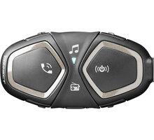 CellularLine Bluetooth handsfree pro uzavřené a otevřené přilby Interphone CONNECT, Single Pack - IN