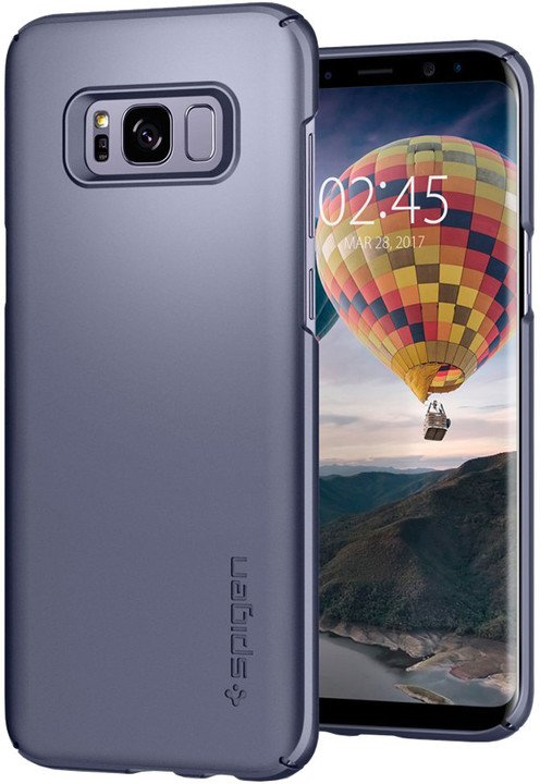 Spigen Thin Fit pro Samsung Galaxy S8+, gray orchid