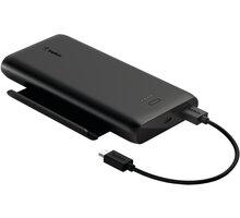 Belkin powerbanka se stojánkem, 10000mAh, USB-A, USB-C, 12W, černá - BPZ002btBK