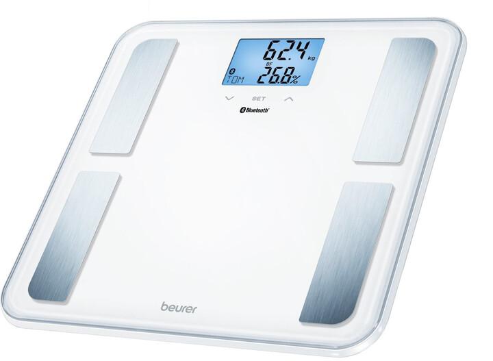BEURER diagnostická váha BF 850, Bluetooth, bílá