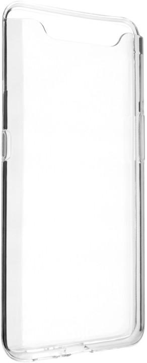 FIXED TPU gelové pouzdro pro Samsung Galaxy A80, čiré