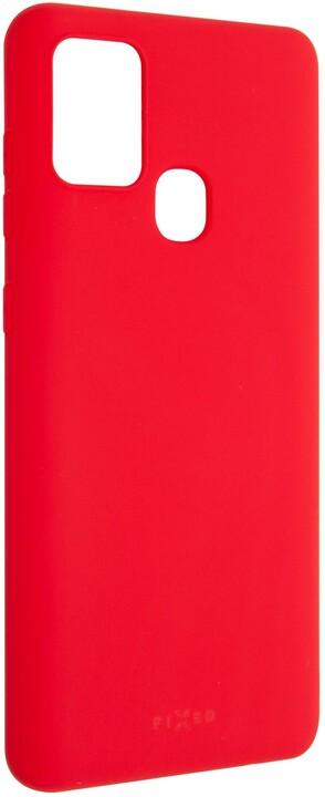 FIXED Story zadní pogumovaný kryt pro SamsungGalaxy A21s, červená