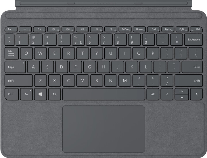 Microsoft Type Cover pro Surface Go, CZ&SK, charocoal