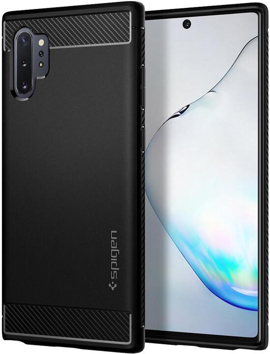Spigen Rugged Armor ochranný kryt pro Samsung Galaxy Note10+, černá