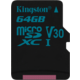 Kingston Micro SDXC Canvas Go! 64GB 90MB/s UHS-I U3