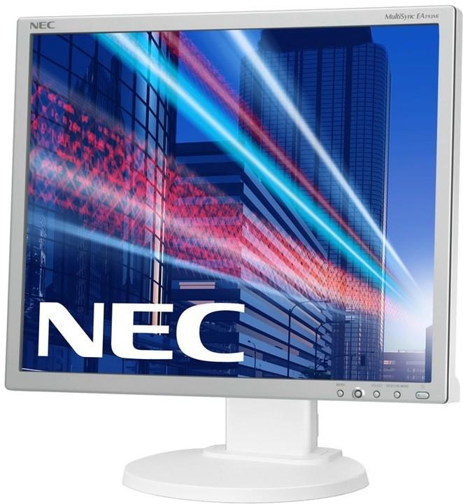 "NEC MultiSync EA193Mi, stříbrná - LED monitor 19"""