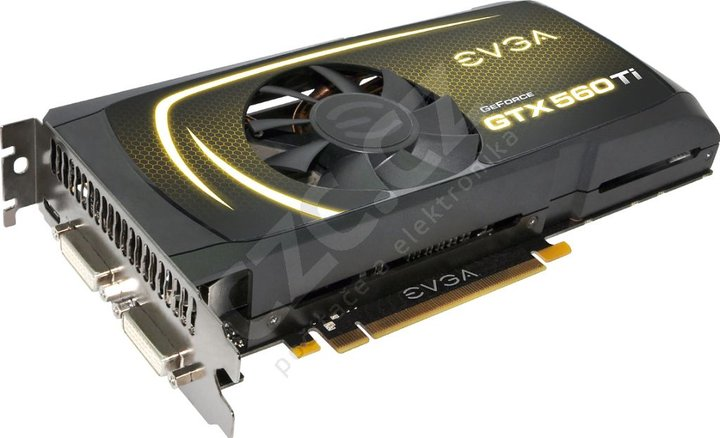 EVGA GeForce GTX 560 Ti FreePerformanceBoost, PCI-E