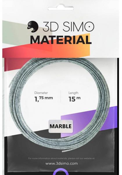 3Dsimo materiál - MARBLE (šedá)