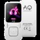 AQ MP02, 4GB, bílá