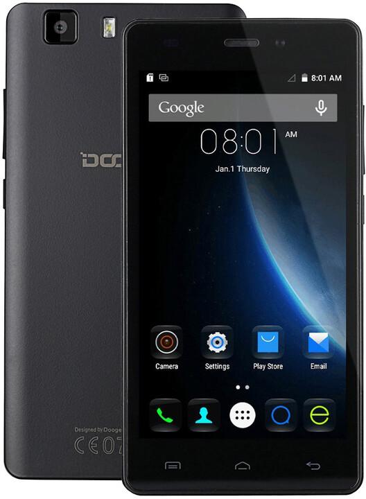 DOOGEE X5 Pro - 16GB, černá