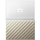 WD My Passport Ultra Metal - 2TB, White/Gold