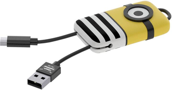 Tribe Minions Jail Time Minion Lightning Keyline přívěšek na klíče (22cm) - Žlutá