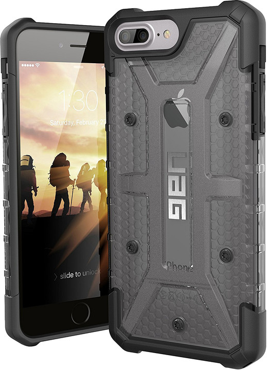 UAG plasma case Ash, smoke - iPhone 8+/7+/6s+