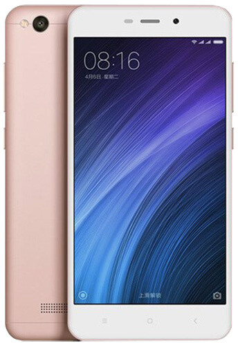 Xiaomi RedMi 4A LTE - 16GB, zlato-růžová