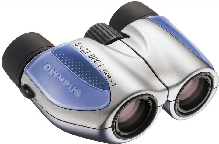 Olympus 8x21 DPC I, modrá