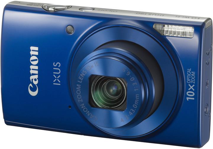 Canon IXUS 190, modrá