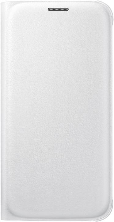 Samsung pouzdro EF-WG920P pro Galaxy S6 (G920), bílá