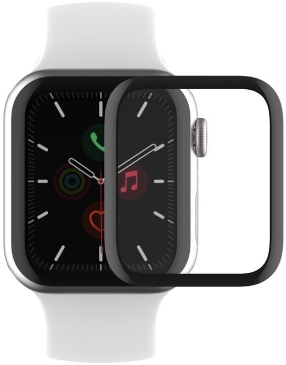 Belkin ochranné sklo pro Apple Watch Series 4/5/6/SE, zahnuté, voděodolné, (40mm)